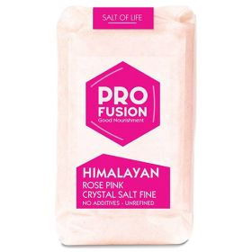 Himalayan Rose Pink Salt Fine 8x500g
