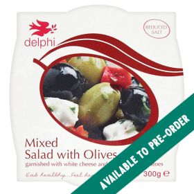 Mixed Olives Feta & Sun Dried Tomatoes 6x300g