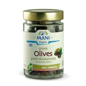 Pitted Kalamata & Green Olives - Organic 6x175g