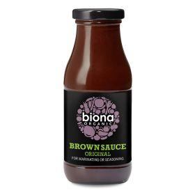 Brown Sauce - Organic 6x270g