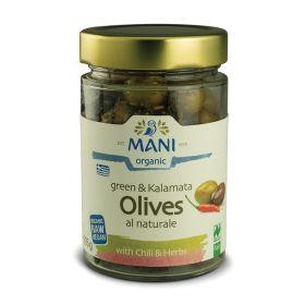 Chilli Green & Kalamata Olive - Organic 6x205g