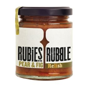 Pear and Fig Port Chutney Relish 6x210g