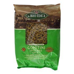 Wholewheat Gomitini (Macaroni) Pasta - Organic 12x500g