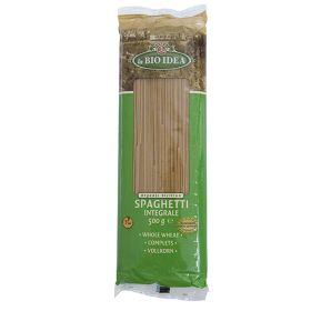 Wholewheat Spaghetti - Organic 12x500g