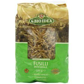 Wholewheat Fusilli Pasta - Organic 12x500g