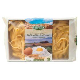 White Tagliatelle Egg Pasta - Organic 12x250g