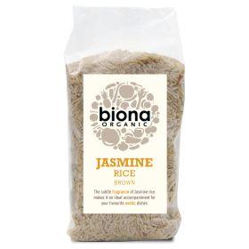 Jasmine Rice - Brown - Organic 6x500g