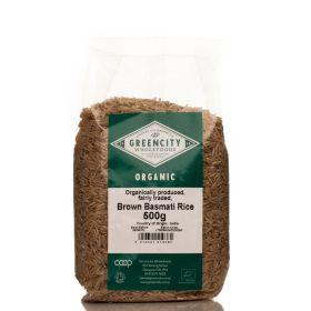 Brown Basmati Rice - Organic 5x500g