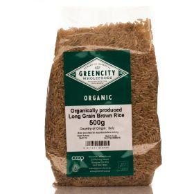 Long Grain Brown Rice - Organic 5x500g