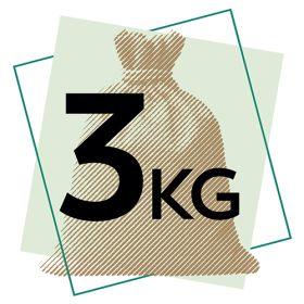 Long Grain White Rice - Organic 1x3kg