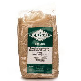 Long Grain White Rice - Organic 5x500g
