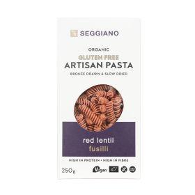 Red Lentil Fusilli - Organic 6x250g