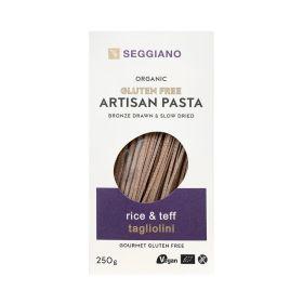 Gluten Free Rice & Teff Tagliolini - Organic 6x250g