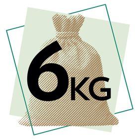 Wholewheat Penne Pasta - Organic 1x6kg