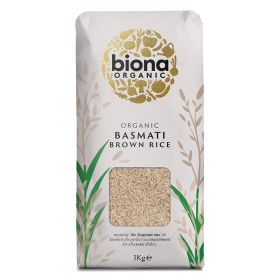 Basmati Brown Rice - Paper Bag - Organic 6x1kg