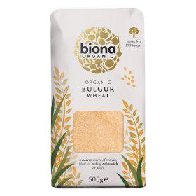 Bulgar Wheat - Paper Bag - Organic 6x500g