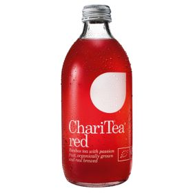 Red - Organic Sparkling Rooibos & Passionfruit Drink 24x330m