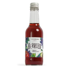 Blackcurrant & Apple Scottish Berry Drink - glass 12x250ml