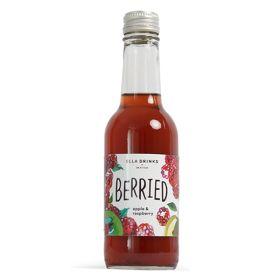 Raspberry & Apple Scottish Berry Drink - glass 12x250ml