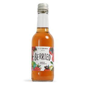 Strawberry & Apple Scottish Berry Drink - glass 12x250ml