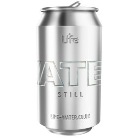 Life Water - still water in can 24x330ml