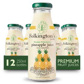 Pure Pressed Pineapple Juice 12x250ml