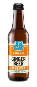 Ginger Beer Kombucha Soda - Organic 12x330ml