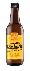 Ginger & Lemon Kombucha - Organic 12x330ml
