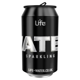 Life Water - sparkling water in can 24x330ml