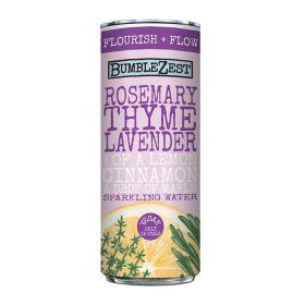 Flourish & Flow: Sparkling Rosemary/Thyme/Lavender 12x250ml