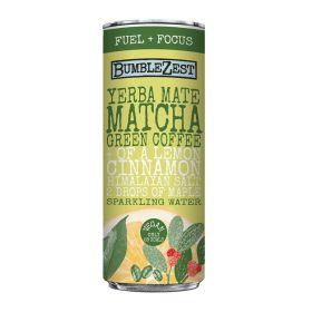 Fuel & Focus: Sparkling Yerba Mate/Matcha/Coffee 12x250ml