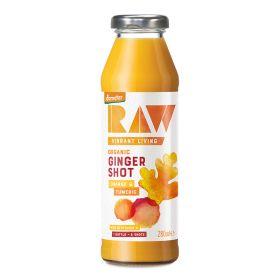 Ginger Shot - Orange & Turmeric - Organic 6x280ml