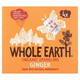 4 pack Sparkling Ginger - Organic 6x4x330ml