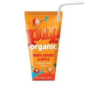 Kids Mango,Orange & Apple Juice Spring Water - Organic 24x18